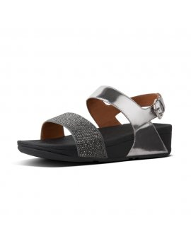 L21 CRYSTALL BACK STRAP SANDALS